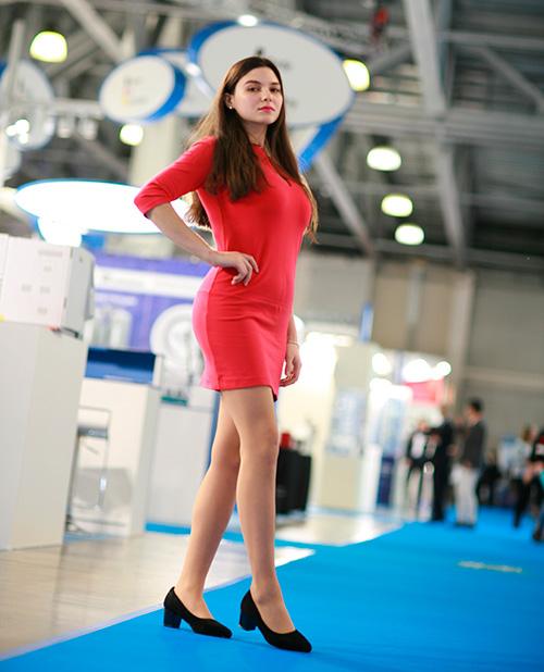 Moscow Exhibition Hostess