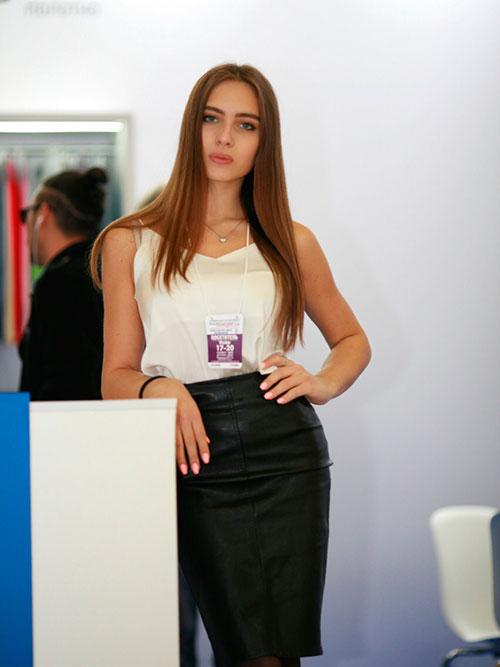 Moscow Exhibition Hostess Interpreter